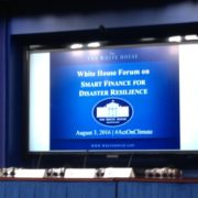 WAFAC Goes to Washington: Smart Finance for Disaster Resilience