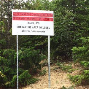 2New-apple-maggot-quarantine-sign-at-the-Dryden-Transfer-Station.-Credit-Hilary-Lundgren-Chumstick-Wildfire-Stewardship-Coalition